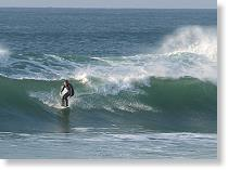 Surfing on the Clare Coast
